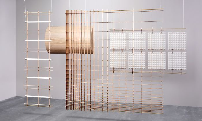 Grid space dividers van David Derksen, Transitions II project door Baars & Bloemhoff