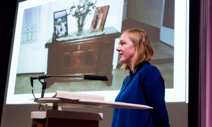 Presentation Anouk Smith, 23 November 2017. Photo: Hans Tak.