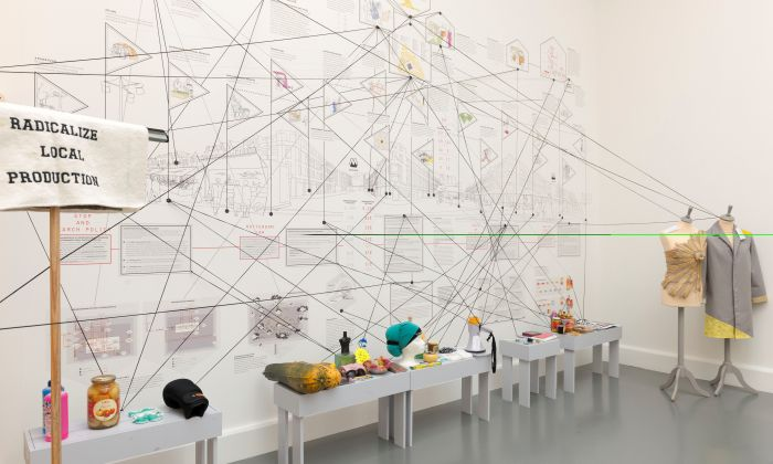 Radicalizing the Local, a network of interventions, Museum of Arte Útil - Van Abbemuseum