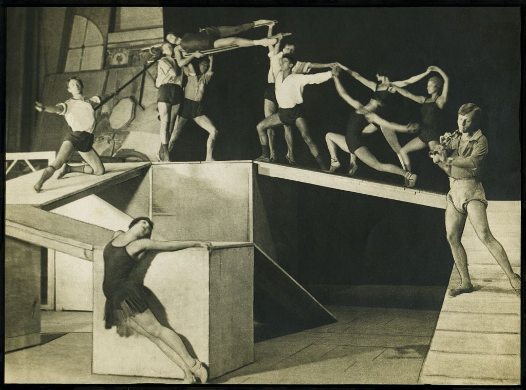 Rehearsal Joseph the Beautiful, Odessa Theatre of Opera and Ballet, 1926